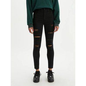 Levi's Mile High Super Skinny Ripped Jeans